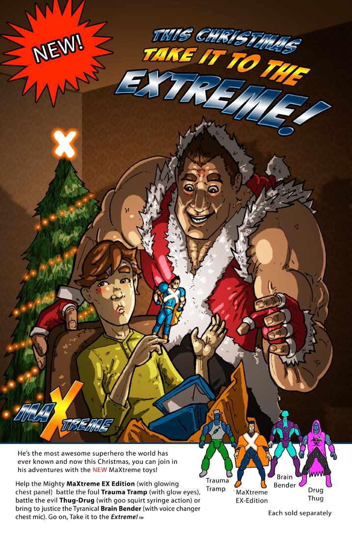 Maxtreme christmas Advert 2015