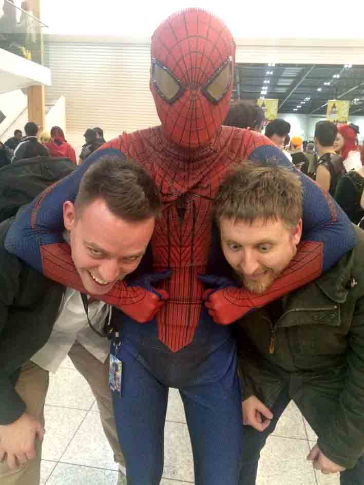 Spiderman LSCC dan Butcher vince Hunt