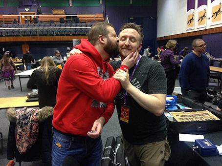 matt garvey vince hunt kiss